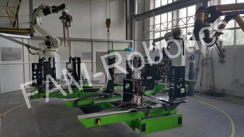 роботизированный комплекс для сварки металлоконструкций