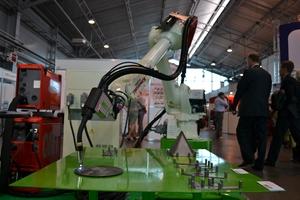 ФАМ-Роботикс на выставке СВАРКА с роботом Kawasaki