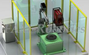 робот с планшайбой