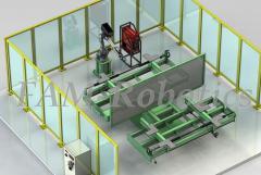 робот с поворотным столом