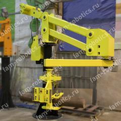 Работа промышленных манипуляторов с крупногабаритными заготовками